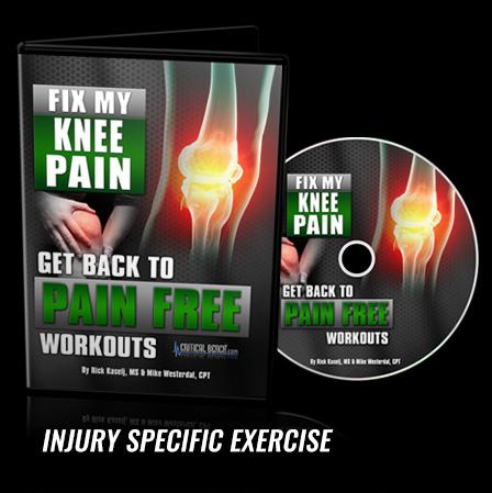 fix my knee pain